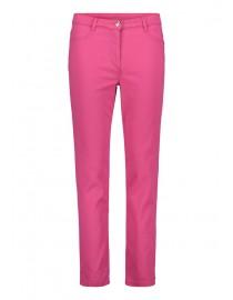 Amarantowe spodnie...