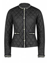 Czarna kurtka pikowana...