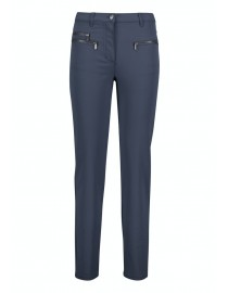 Granatowe spodnie Betty...