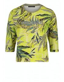 Limonkowa z nadrukiem bluza...