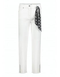 Bawełniane białe spodnie...