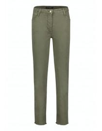 Bawełniane oliwkowe spodnie...